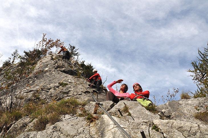 Klettersteig Johnsbach : Bergsportschule brugger bergsport ¦ natur pur